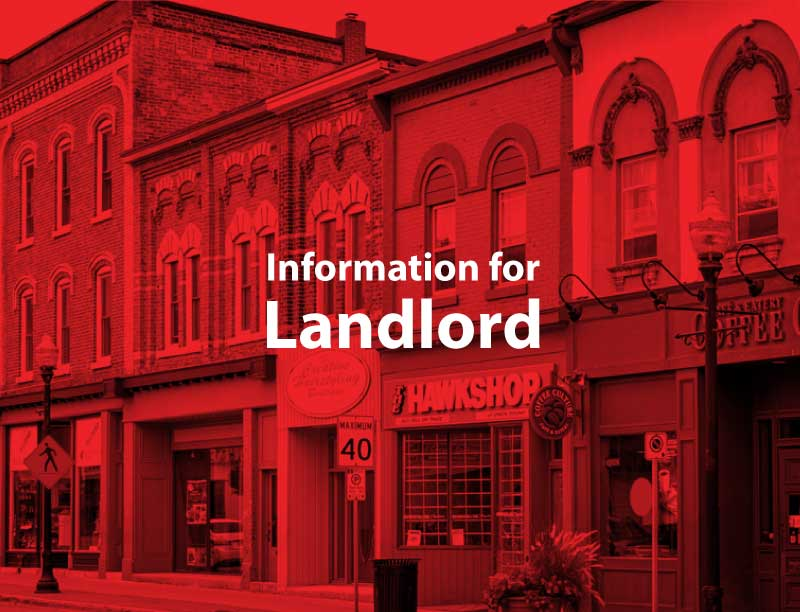 information for landlord